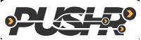 PUSHR logo